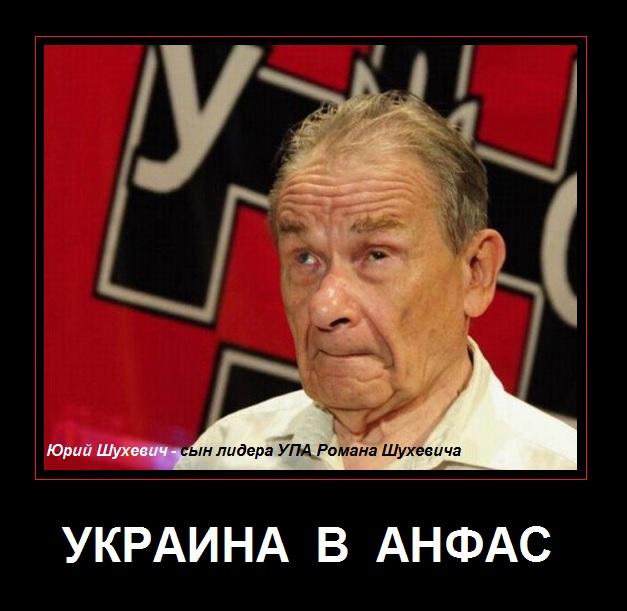 Украина в анфас