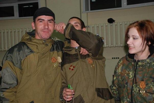 Ополченка в батальоне Моторолы