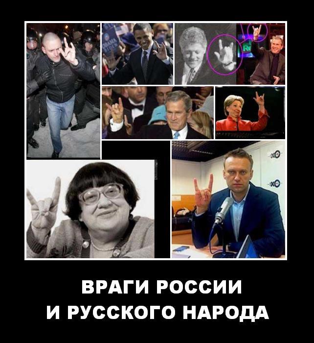 Враги России и русского народа