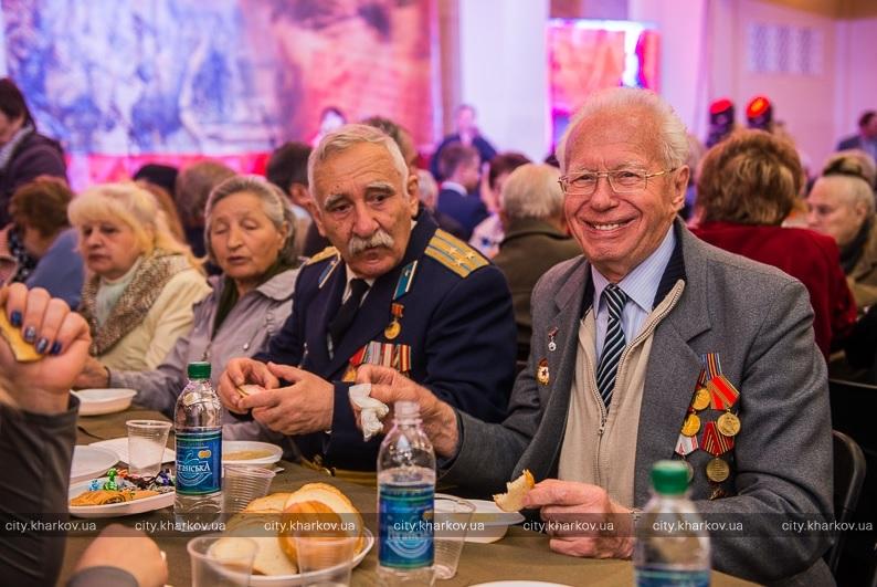 Г Я Медник В Харькове отмечают 70 лет Победы