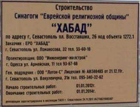 Синагога в Севастополе