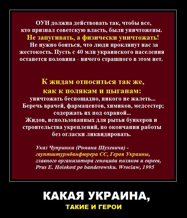 Какая Украина, такие и герои