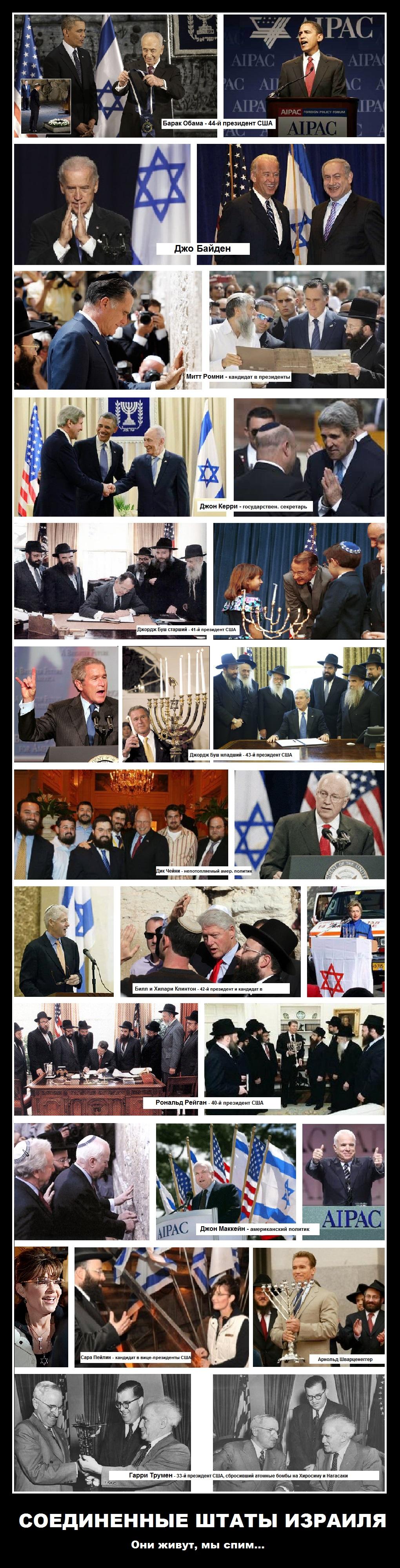 Соединенные штаты Израиля