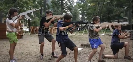 Русский секс в детском лагере