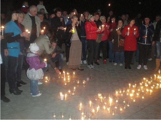 Вечная память погибшим на Донбассе