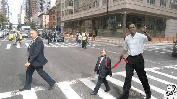 ПоТрошенко на поводке Обамы