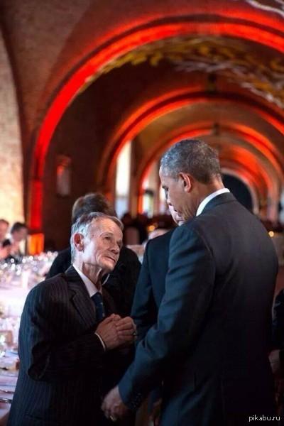 Джемилев и Обама