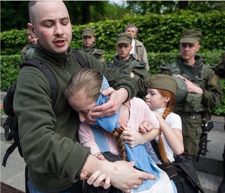 Бандерлоги День Победы 2016 Киев