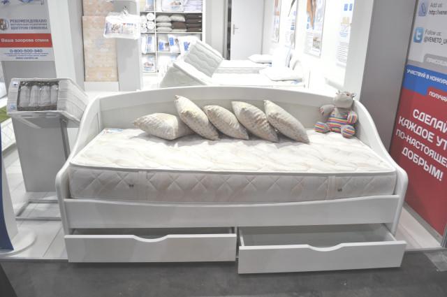 Кровать полуторка с ящиками