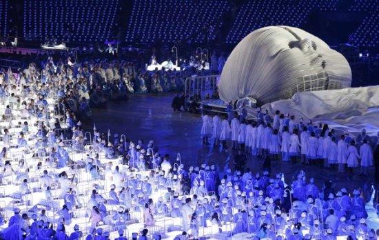 Olympics opening ceremony sick kids