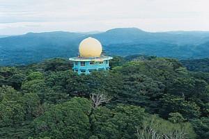 Панама, экоотель в радарной башне Canopy Tower