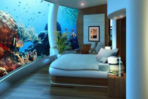 подводный отель Poseidon Undersea Resort