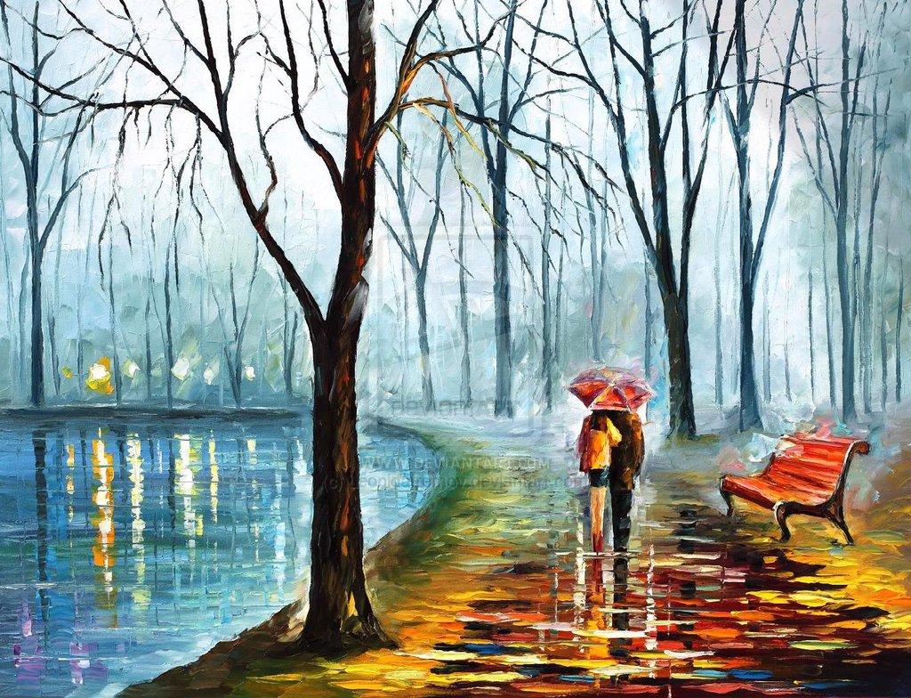 foggy_rain____by_leonid_afremov_by_leonidafremov-d6gxday
