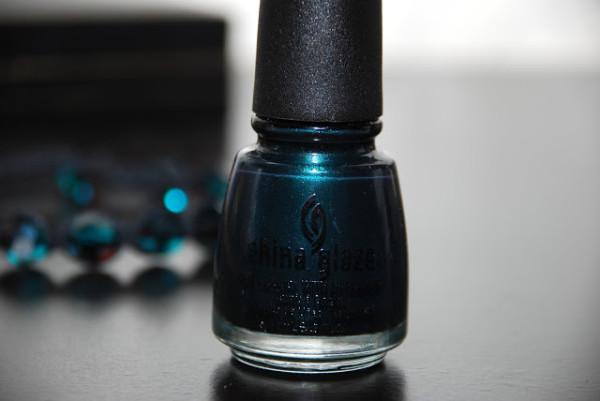 Лак для ногтей China Glaze Emerald Fitzgerald свотчи отзыв (3)