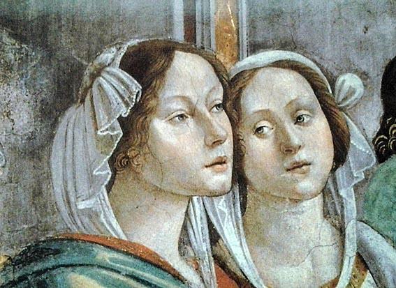 Гирландайо. Свадьба Марии (фрагмент)