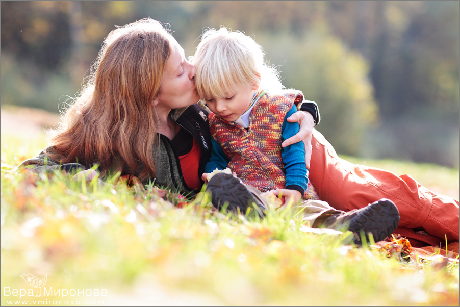 Детский и семейный фотограф Вера Миронова. Семейное фото и видео