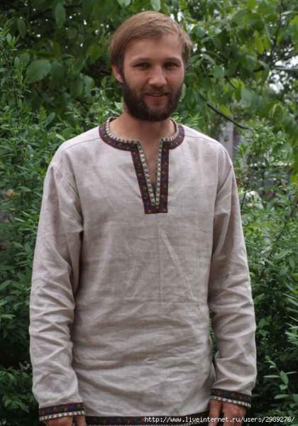 славянская русская рубаха