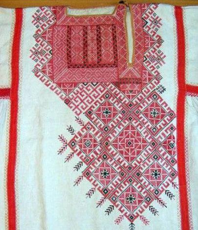 фрагмент семипалатинской рубахи
