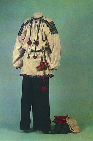 воронежский костюм