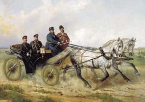 Alexander_III_and_Orlov_Trotters_by_Sverchkov
