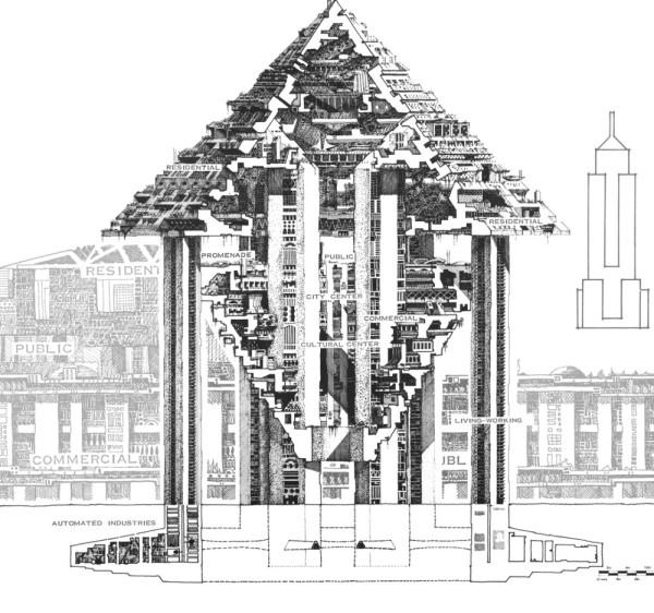 шестигранный город