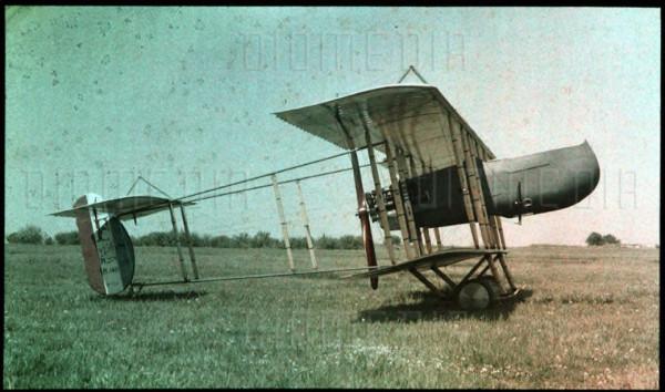 Leon Gimpel-Maurice Farman 130 HP, F.40 type military plane, Buc airport 21-05-1917