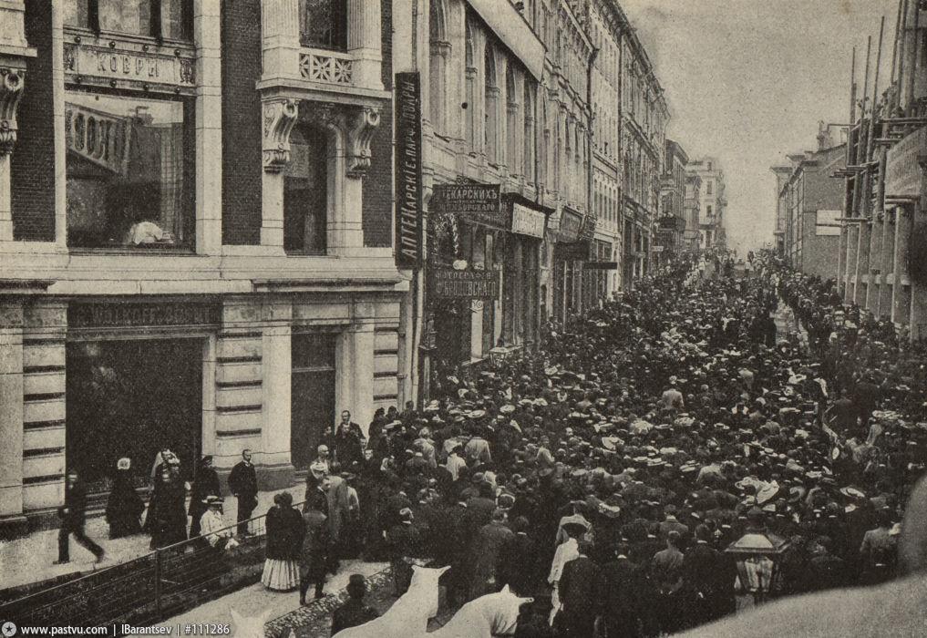 Похороны Чехова Кузнецкий Мхат