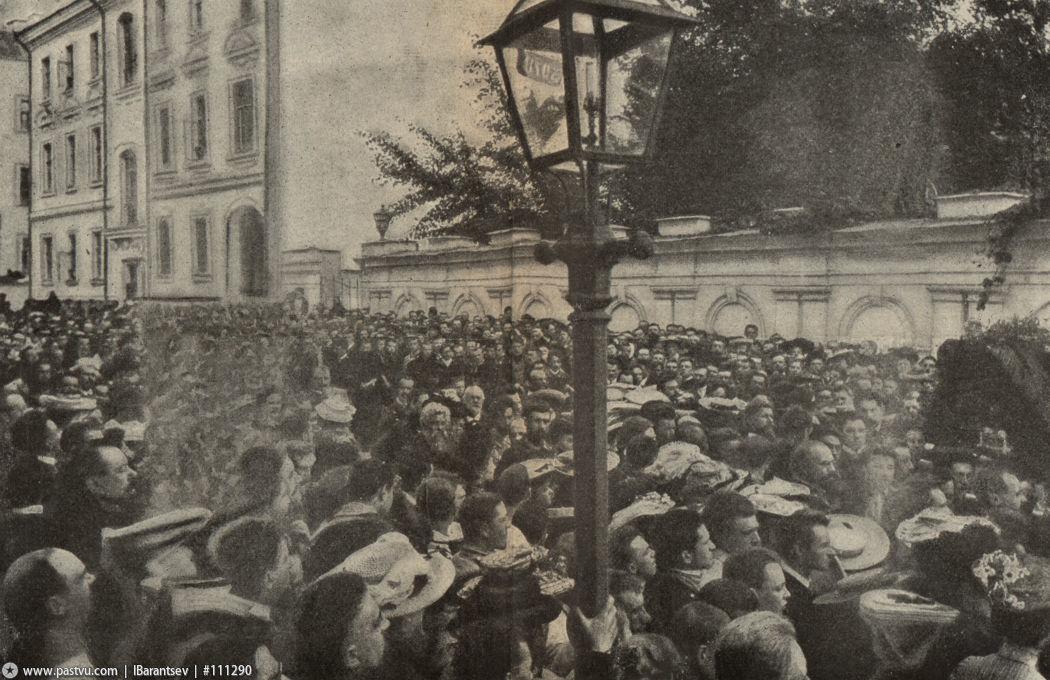 Похороны Чехова Староваганьковский