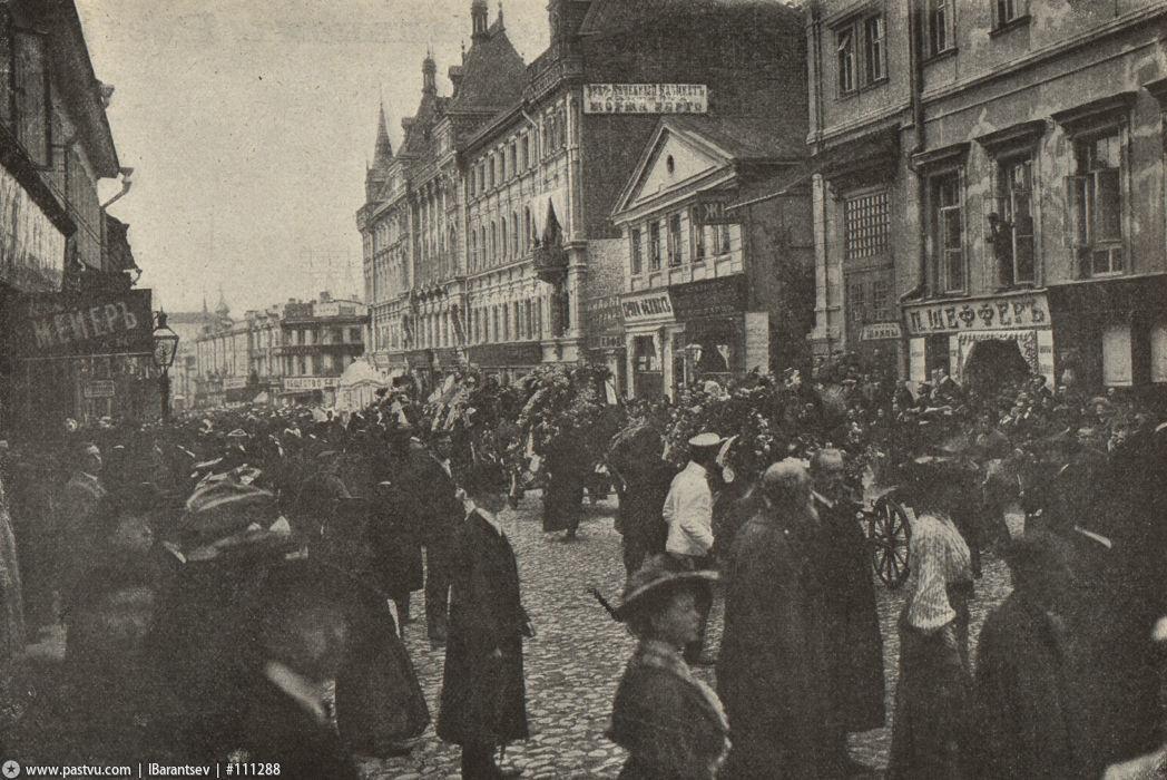 Похороны Чехова Камергерский