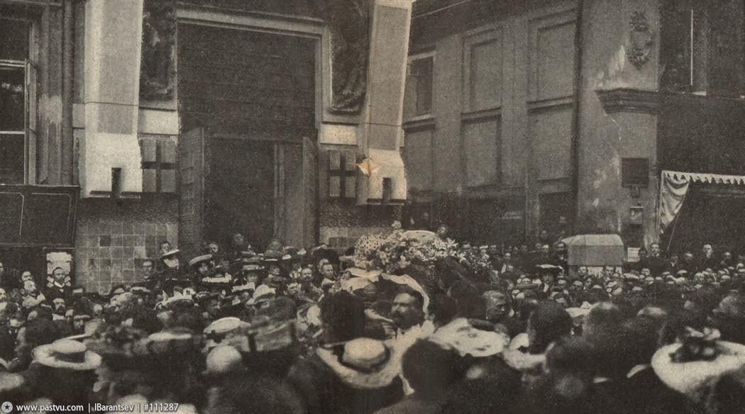 Похороны Чехова Мхат