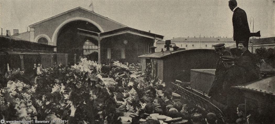 Похороны Чехова Николаевский вокзал 2