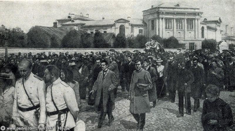 Похороны Чехова 3