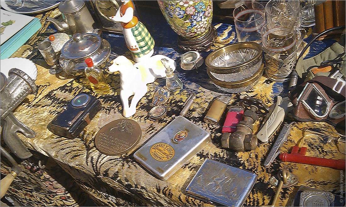 Таганрогский блошинный рынок 19