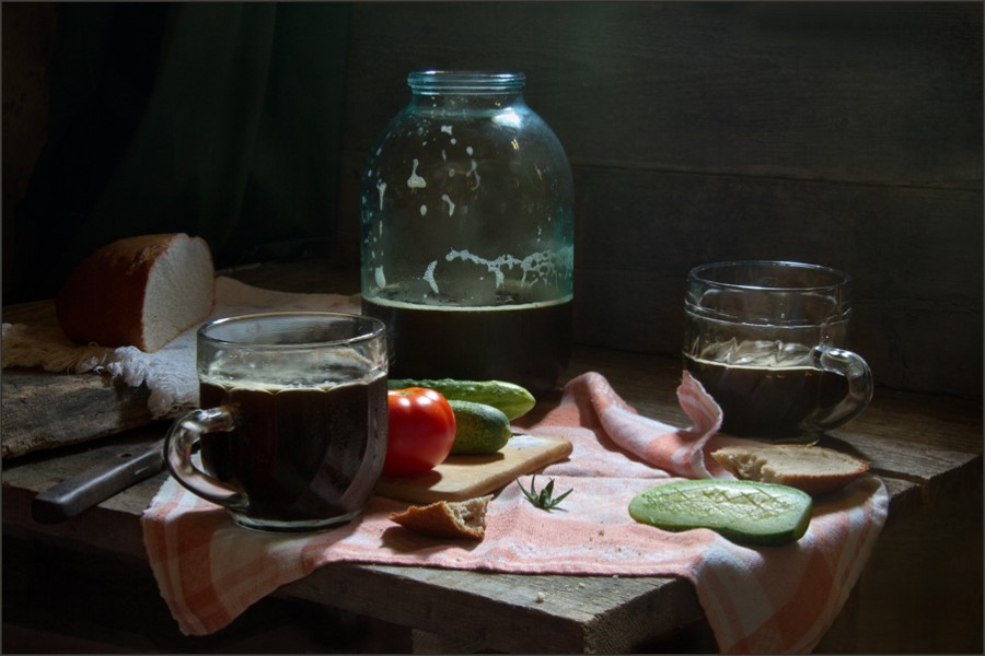 Советские-натюрморты-Александра-Сенникова