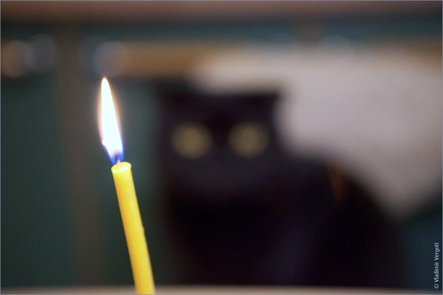 Матис и свеча