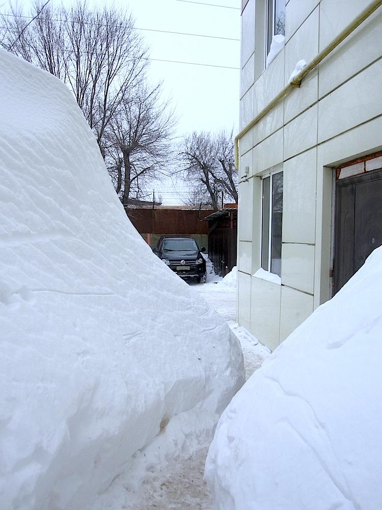 Высота снега