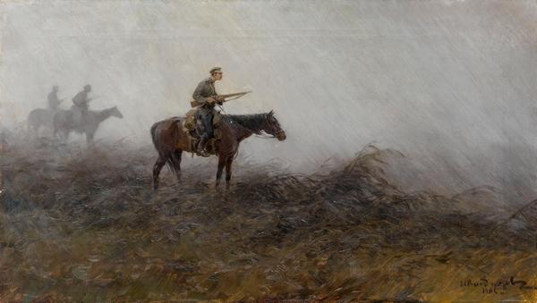 Иван Владимиров. Ночной патруль. 1904