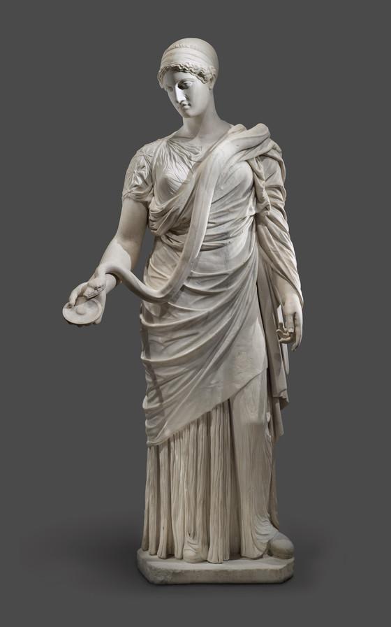 Гигиея, римская копия (II в.) греческой статуи классического периода