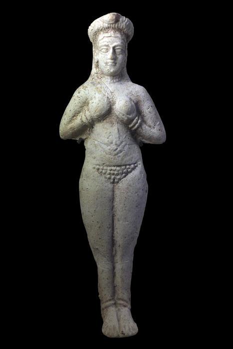 Статуэтка Иштар, XIV - XI вв. до н.э., Сузы, Элам
