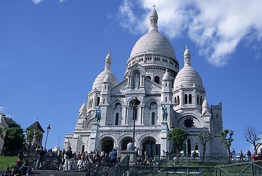 Paris-Montmartre-Basilique-du-Sacre-Coeur
