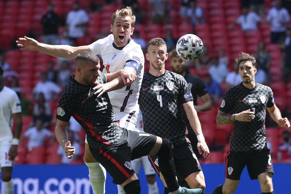 Матч Англия-Хорватия. Евро 2020