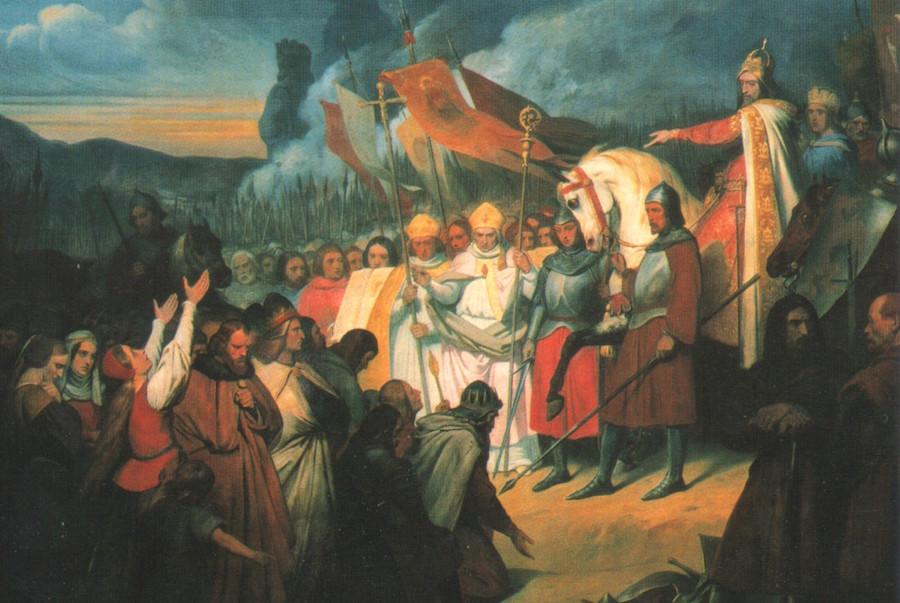 На горизонте Империя Карла Великого.