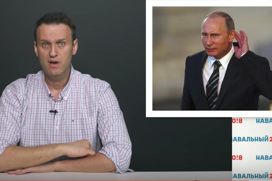 Поединок Навального и Путина