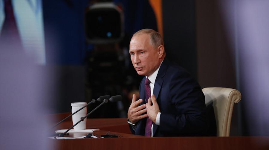 Понос в голове у Путина и его происхождение