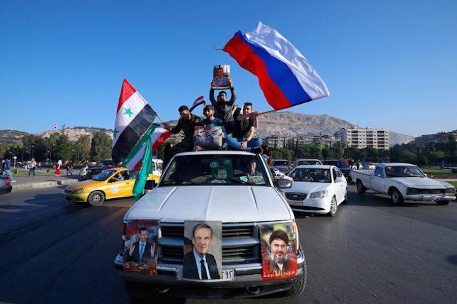Последствия удара союзников по Сирии