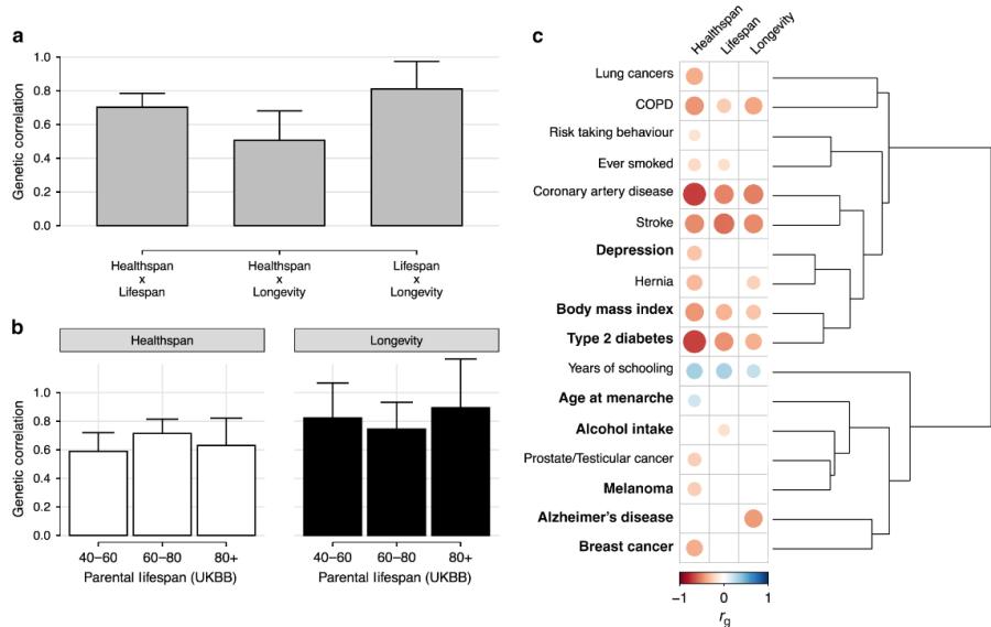 Фундаментальная статья по генетике длинной жизни