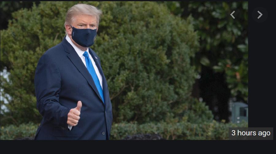 Трамп отправляется в госпиталь на несколько дней