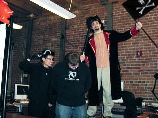 LiveJournal crew member taken hostage