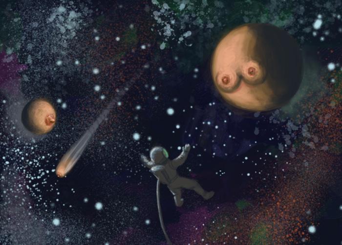 Космические сиськи