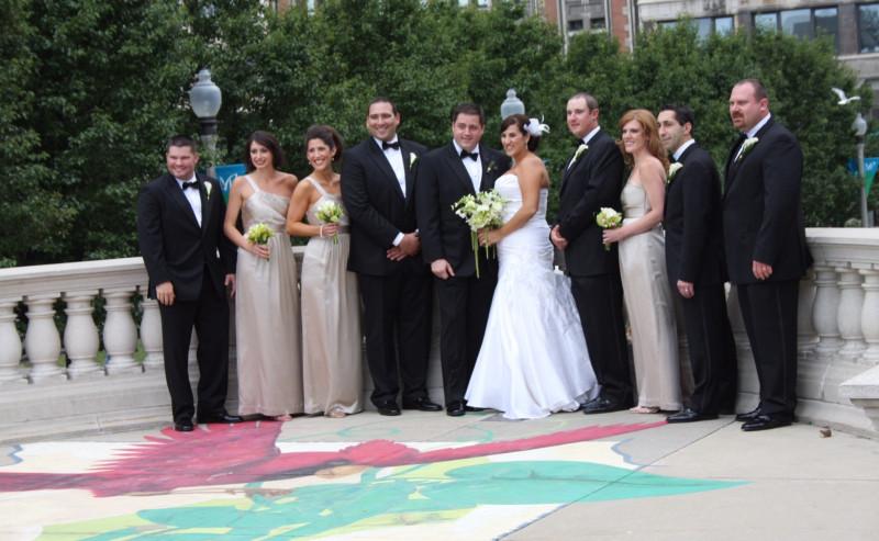 ( Фото типичной американской свадьбы)